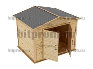 СД-01 Сарайчик деревянный для дачи (2,5м x 2,0м)