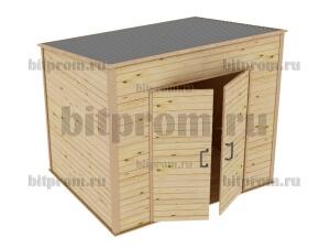 СД-02 Сарайчик дачный деревянный (2,3м x 1,8м)