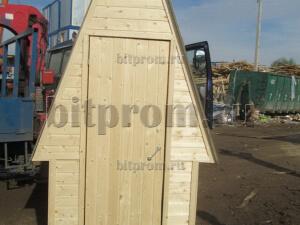 Деревянный туалет Т-02 «Ромб»
