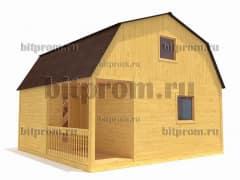 Брусовой дом БД-03