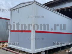 Блок-контейнер (вагон РЖД) из сэндвич-панелей БК-056 СП