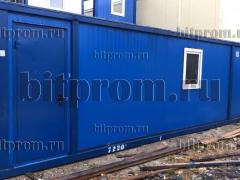 Блок-контейнер БК (8м) СП из сэндвич-панелей