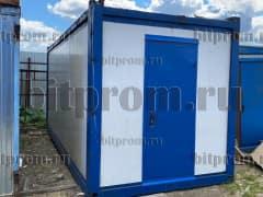 Блок-контейнер БК (6м) СП из сэндвич-панелей