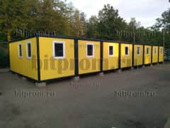 Модульное здание М-50 из 8 блок-контейнеров