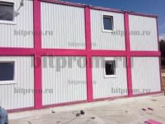 Модульное здание М-53 из 10 блок-контейнеров