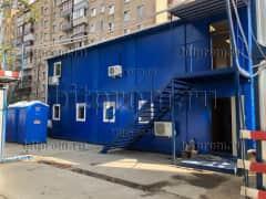 Модульное здание М-54 СП из 10 блок-контейнеров «сэндвич»