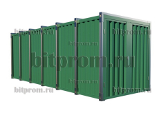 Сборно-разборный контейнер СРК-06 УК (усиленный) RAL 5005