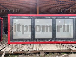 Мобильный офис ТМ-09 СП из сэндвич-панелей