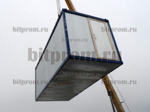 УБК-01 ДВП - улучшенный металлический блок-контейнер