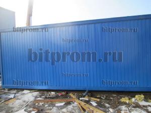 Блок-контейнер УБК-033 ДВПО с оцинкованным дном