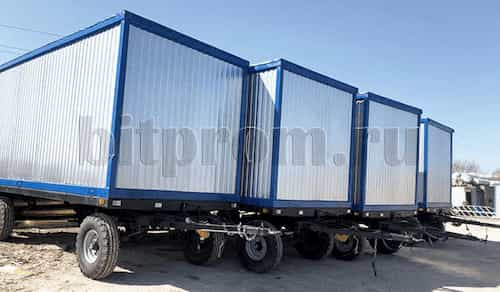 Блок-контейнеры на шасси